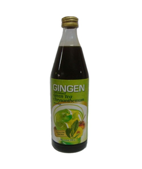 Condensed Chrysanthemum Syrup with Green Tea