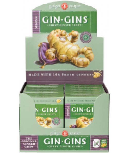 Gin Gins® Original Chewy Ginger Candy - Travel Box