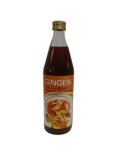 Condensed Chrysanthemum Syrup with Ginger
