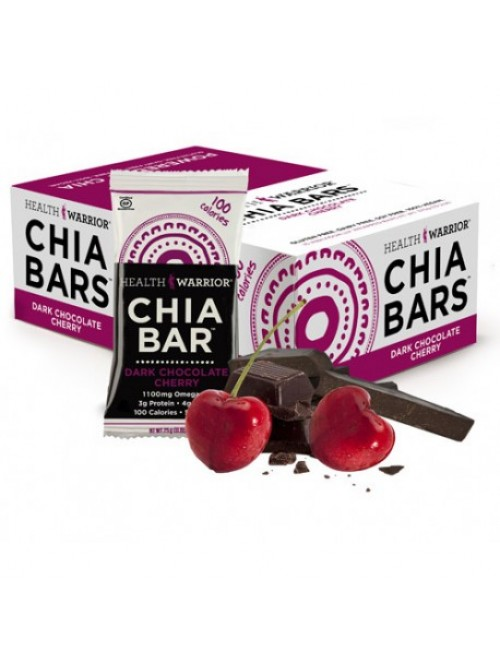 Dark Chocolate Cherry Chia Bar