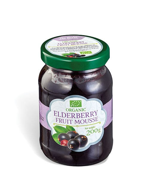 Organic Elderberry Fruit Mousse