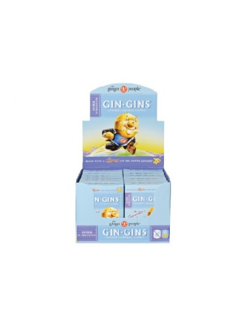 Gin Gins® Super Strength Ginger Caramel Candy - Travel Box