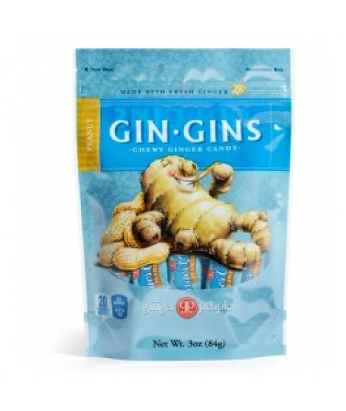 Gin Gins® Peanut Chewy Ginger Candy