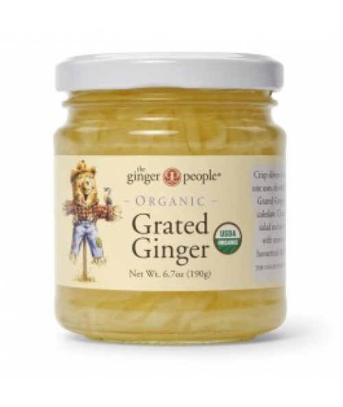 Organic Grated Ginger