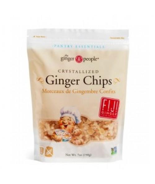 Crystallized Ginger Chips