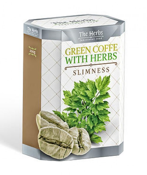 Green Coffee with Herbs - Slimness