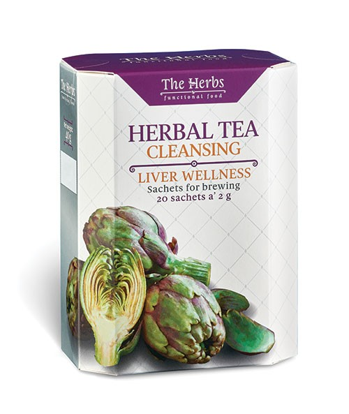 Cleansing Liver Wellness Herbal Tea