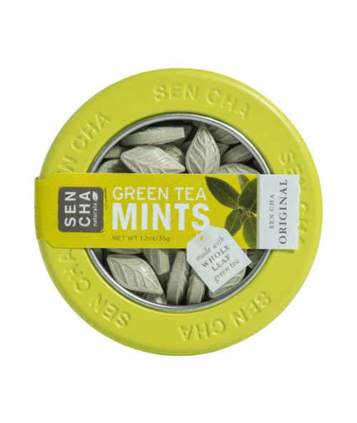 Original Green Tea Mints , Single Canister
