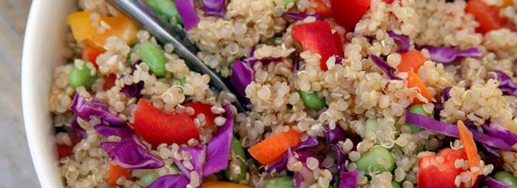 Chia Ginger Quinoa Salad