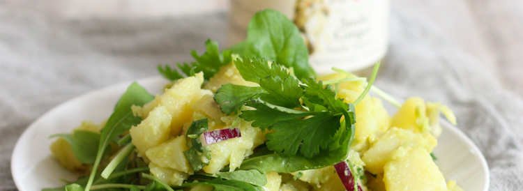 Ginger and Avocado Potato Salad