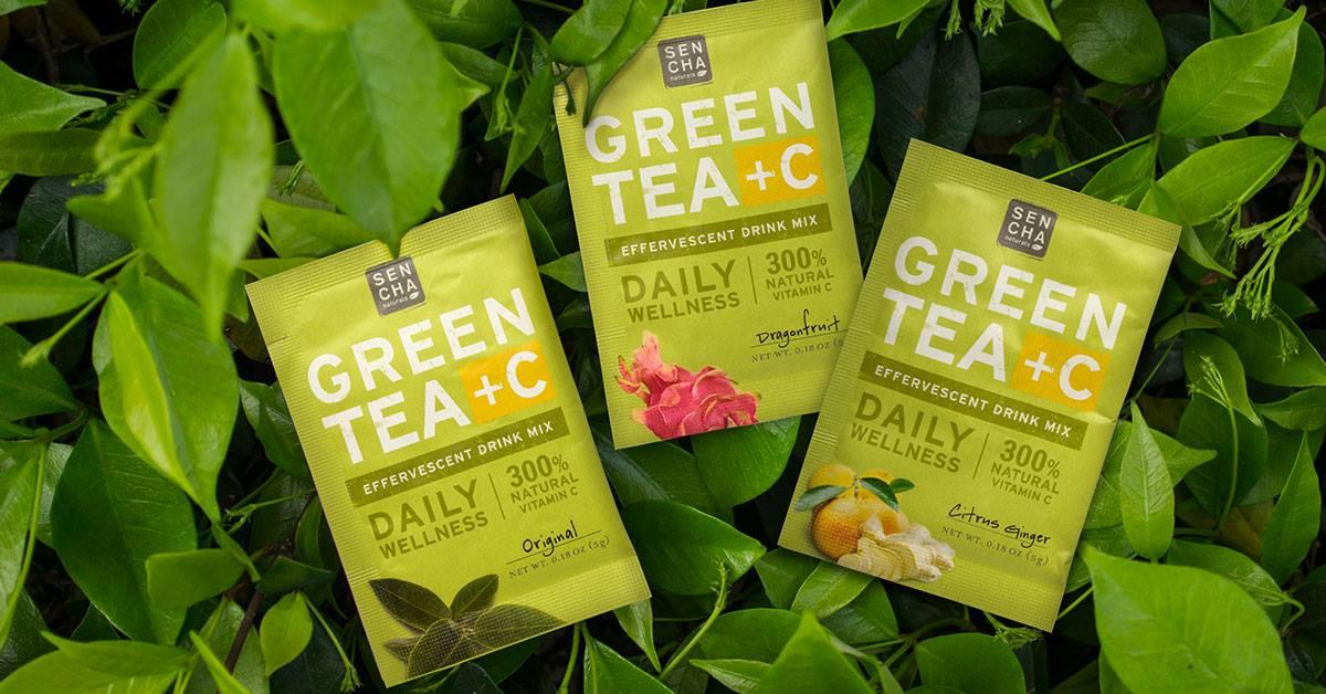 Green Tea + C