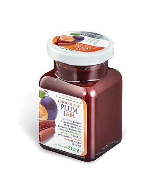 Chocolate Plum Jam
