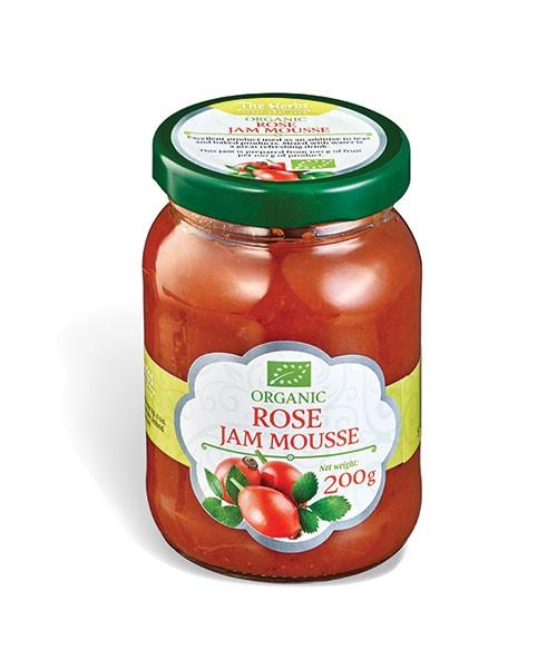 Organic Rose Jam Mousse