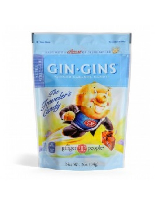 Gin Gins® Super Strength Ginger Caramel Candy