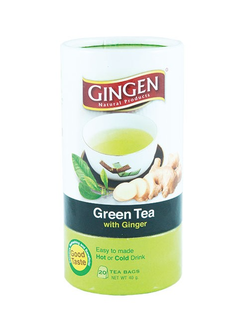 Green Tea With Ginger (Tea Bag)