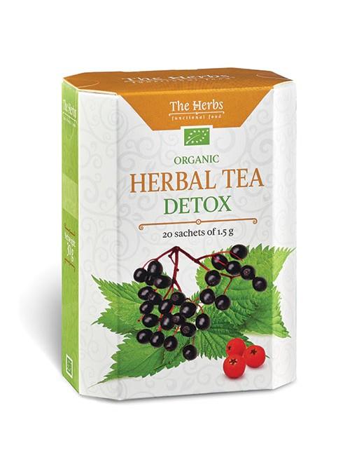 Organic Detox Herbal Tea