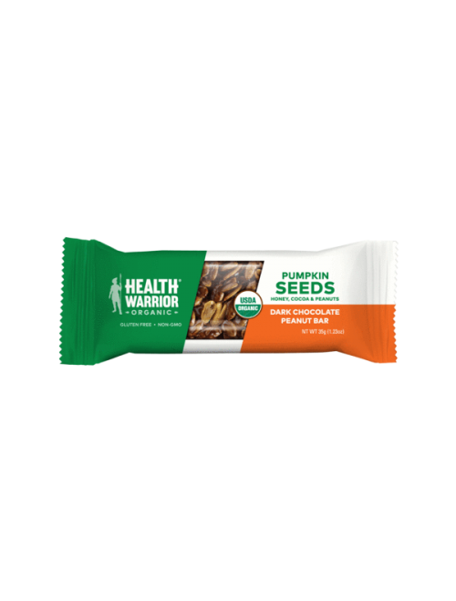 Organic Dark Chocolate Peanut Pumpkin Seed Bar