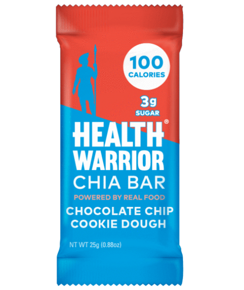 Chocolate Chip Cookie Dough Chia Bar