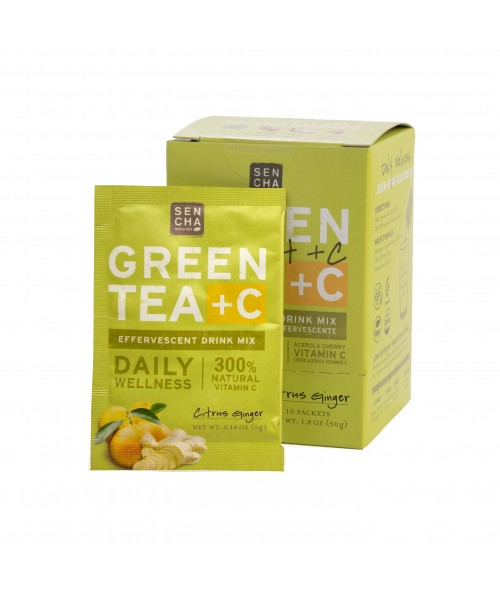 Green Tea +C Citrus Ginger