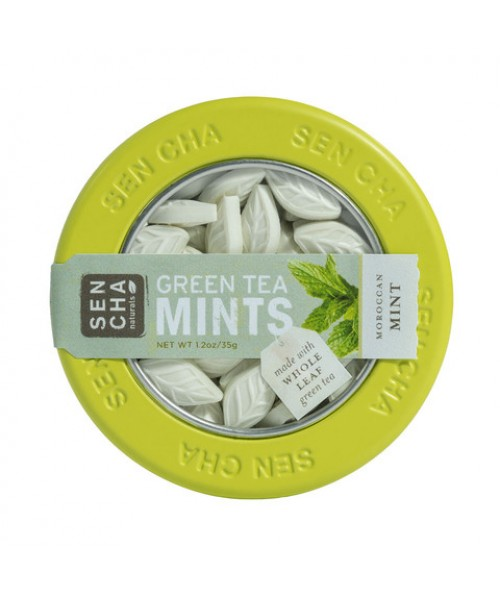 Moroccan Mint Green Tea Mints , Single Canister