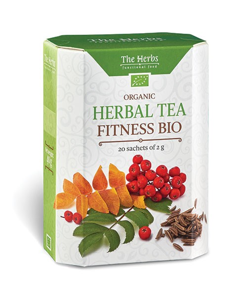 Organic Fitness Bio Herbal Tea