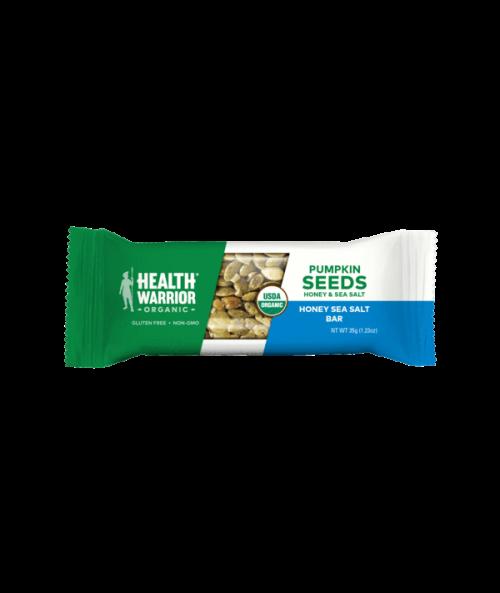 Organic Honey Sea Salt Pumpkin Seed Bar