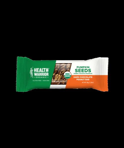 Organic Dark Chocolate Peanut Pumpkin Seed Bar