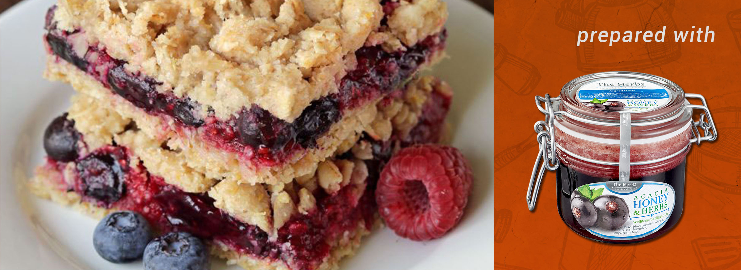 Berry Bars (whole grain, dairy-free options)
