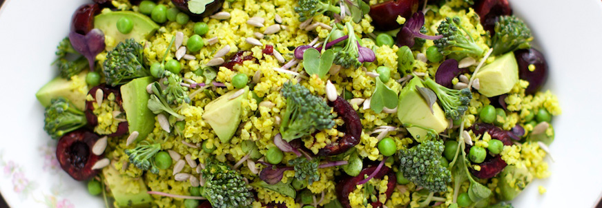 Broccoli Salad with Millet