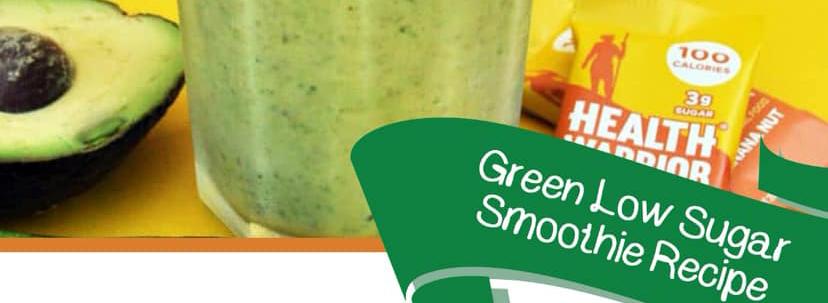 Green Low Sugar Smoothie Recipe