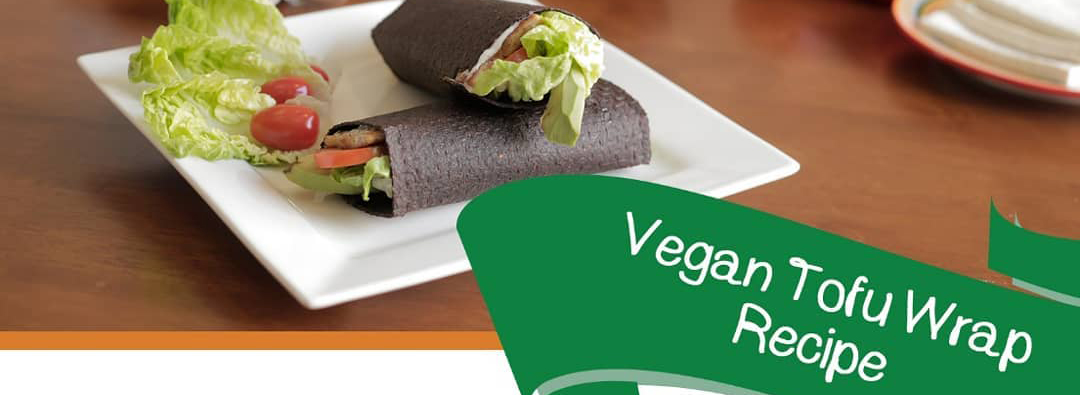 Vegan Tofu Wrap